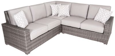 Erwin And Sons Santa Cruz 3-Piece Outdoor Sectional
