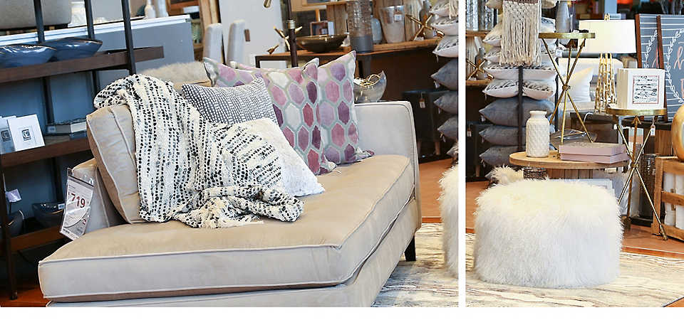 Versatile chaise lounge inspiration at Homemakers