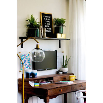 Small Stuff Counts Home Office Makeover