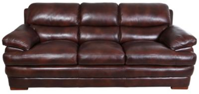 Flexsteel Dylan 100% Leather Sofa