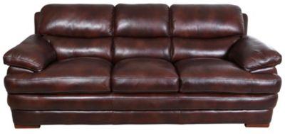 Superieur Flexsteel Dylan 100% Leather Sofa