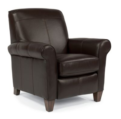 Flexsteel Dana High-Leg 100% Leather Recliner
