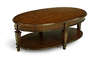 Flexsteel Oakbrook Oval Coffee Table
