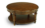 Flexsteel Oakbrook Lift-Top Round Coffee Table