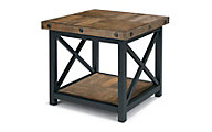 Flexsteel Carpenter Dark Side Table