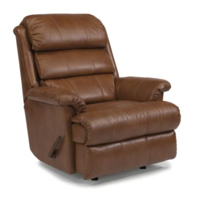 Flexsteel Yukon Leather Rocker Recliner