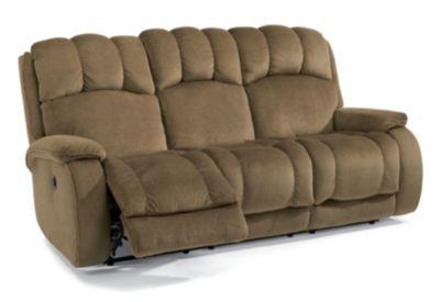 Flexsteel Huron Reclining Sofa Homemakers Furniture