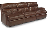 Flexsteel Triton 3-Piece 100% Leather Reclining Sofa
