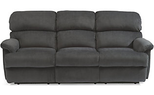 Flexsteel Chicago Charcoal Power Reclining Sofa