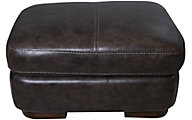 Flexsteel Jillian 100% Leather Ottoman