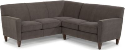 Flexsteel Digby Gray 2-Piece Sectional