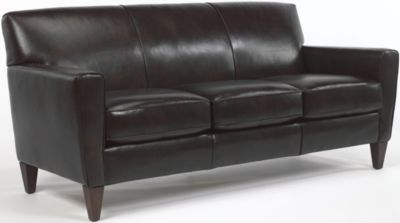 Flexsteel Digby 100% Leather Sofa
