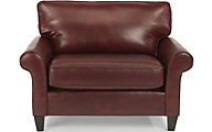 Flexsteel Westside 100% Leather Chair & 1/2