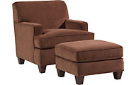 Flexsteel Dempsey Brown Accent Chair