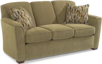 Flexsteel Lakewood Tan Full Sleeper Sofa