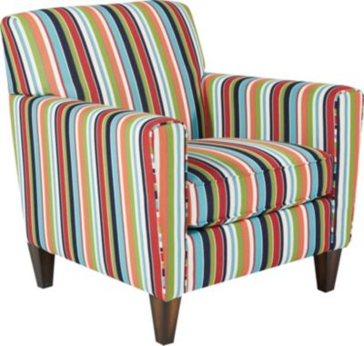 Flexsteel Digby Striped Accent Chair