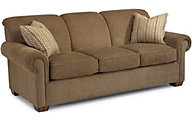 Flexsteel Main Street Tan Queen Sleeper Sofa