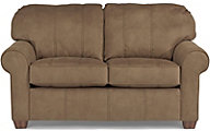Flexsteel Thornton Brown Loveseat