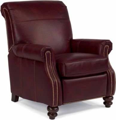 Flexsteel Bay Bridge 100% Leather Recliner
