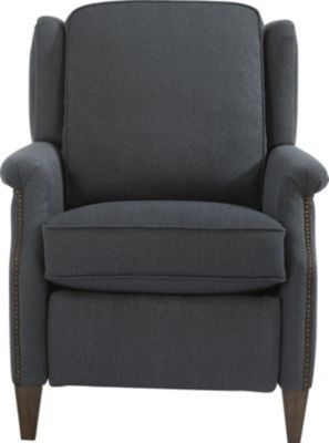 Flexsteel Zevon Blue Press-Back Recliner