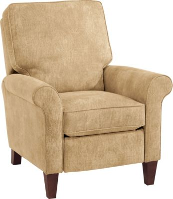 Flexsteel Westside Cream Press-Back Recliner