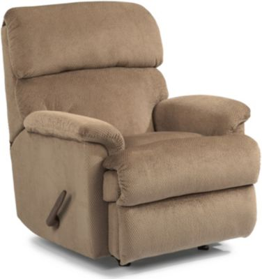 Flexsteel Chicago Tan Rocker Recliner