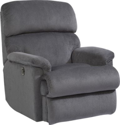 Flexsteel Chicago Gray Power Wall Recliner