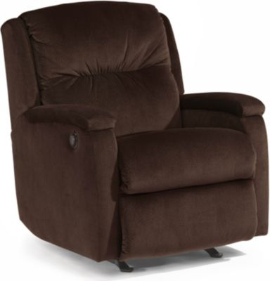 Flexsteel Kayla Brown Power Rocker Recliner