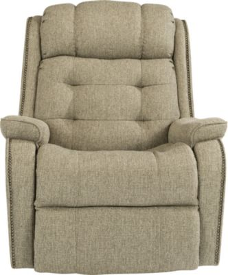 Flexsteel Cassidy Cream Power Rocker Recliner