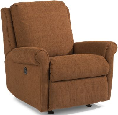 Flexsteel Macy Copper Power Rocker Recliner