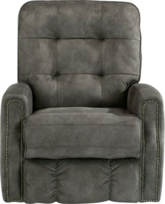 Flexsteel Devon Gray Power Rocker Recliner