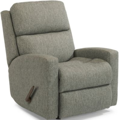 Flexsteel Catalina Gray Rocker Recliner