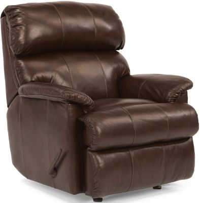 Flexsteel Chicago 100% Leather Wall Recliner