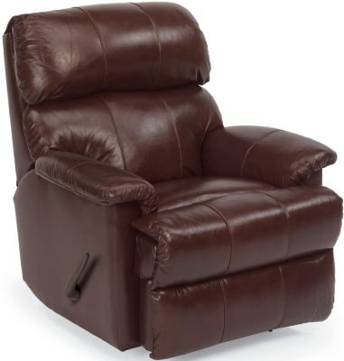 Flexsteel Chicago 100% Leather Rocker Recliner