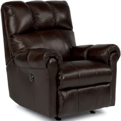 Flexsteel McGee Leather Power Wall Recliner