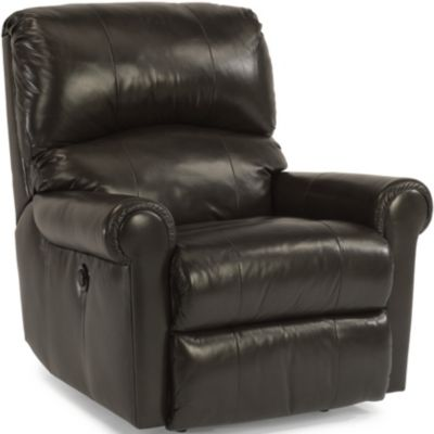 Flexsteel Markham Leather Power Wall Recliner
