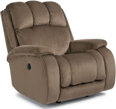 Flexsteel Huron Tan Power Wall Recliner