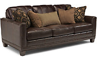 Flexsteel Port Royal Leather Sofa
