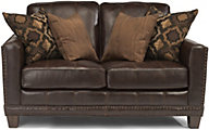 Flexsteel Port Royal Leather Loveseat