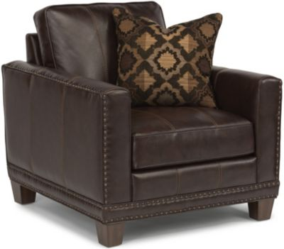 Flexsteel Port Royal Leather Chair