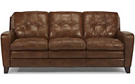 Flexsteel South Street 100% Leather Sofa