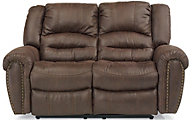 Flexsteel New Town Reclining Loveseat