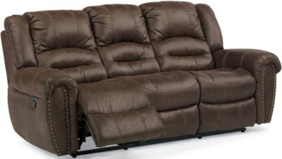 Flexsteel New Town Reclining Sofa