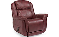 Flexsteel Brookings 100% Leather Rocker Recliner
