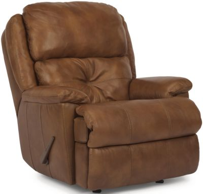 Flexsteel Cruise Control 100% Leather Rocker Recliner