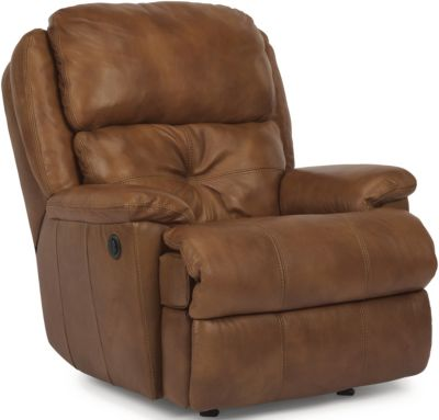 Flexsteel Cruise Control 100% Leather Power Recliner