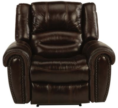 Flexsteel Crosstown Leather Glider Recliner