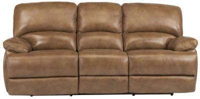 Flexsteel Dylan 100 Leather Reclining Sofa Homemakers Furniture
