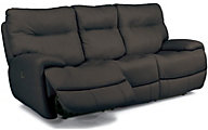 Flexsteel Evian Leather Power Reclining Sofa