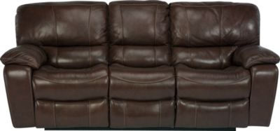 Flexsteel Grandview Leather Power Reclining Sofa
